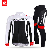 Nuckily Summer High Quality China Custom Cycling Long Sleeve Jersey With Tight Set CJ135CK135