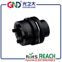 GSWT 45#High Rigidity Shaft Couplings 45 Steel 8 Screws Single Diaphragm Step Locking Assemblies
