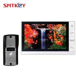 9 polegada telefone video da porta sistema de intercomunicação com câmera 700tvl cor 9 sistema vídeo porteiro 998 + 666/669/668/660
