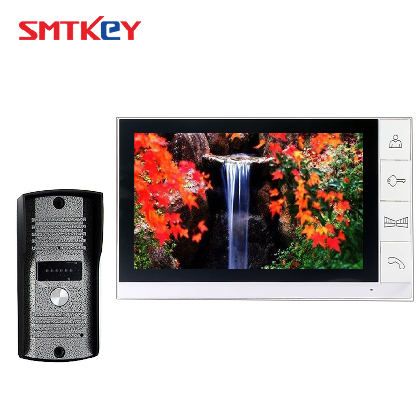 9inch Video Door Phone Intercom System With 700TVL Color Camera 9