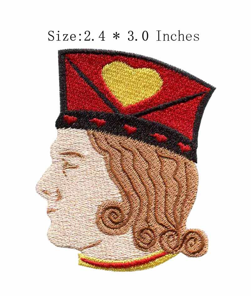 3.0high A handsome prince embroidery patch patches rock/doraemon/princess patch