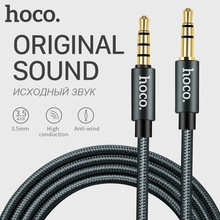 HOCO Aux Cable with Microphone 3.5mm Jack Male to Male Audio Cable Jack 3.5 for Car iPhone MP3 / MP4 Headphone Speaker
