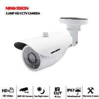 HD Sony Sensor AHD Câmera 5MP 5.0MP AHD-5MP Bala CCTV Câmera De Segurança De Vídeo Ao Ar Livre indoor IP66 IRCUT Night Vision À Prova D' Água