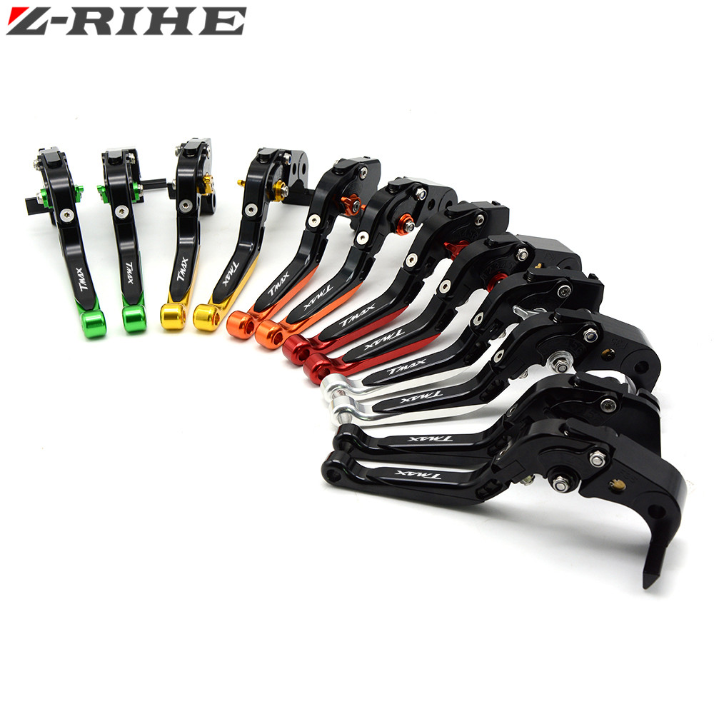 цены Adjustable motorcycle brake clutch levers For Yamaha TMAX530 TMAX 500 T-MAX530 T-MAX 530 tmax-500 2008 - 2012 2013 2014 2016