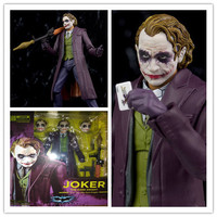 15cm The Dark Knight Joker Heath Ledger PVC Action Figure model cosplay NECA Batman toys for kids gifts