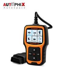 Autophix OM126 Universal OBD Del Coche Herramienta de Análisis OBD2 Motor de Escáner Lector de Código de Error para Diesel y Gasolina Automotriz OBDII 2017 Nuevo