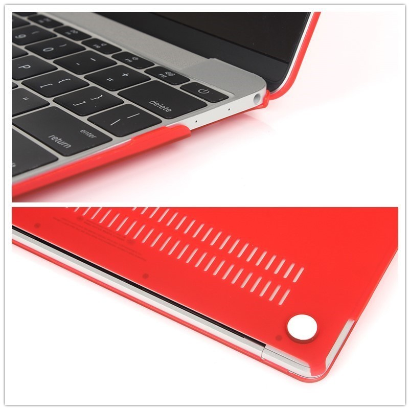 Image 5 - Hard PVC Matte Laptop Case for Macbook Pro Air Retina 11 12 13 15 inch A1370 A1932 A1466 Protective Case Funda for MacBook Case-in Laptop Bags & Cases from Computer & Office