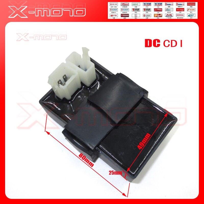 6 կապում DC Ignition CDI տուփ 125cc 150cc 200cc 250cc ATV - Պարագաներ եւ պահեստամասերի համար մոտոցիկլետների - Լուսանկար 1