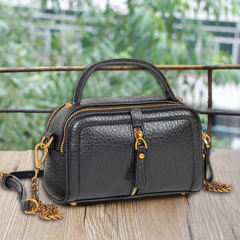 2018 Новое поступление Сумки из кожи для Для женщин телячья кожа сумка портфель Портфели портфель Для женщин сумка
