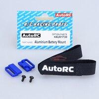 AutoRC SC A10 Short Card Original Fittings EVO AU01730 Aluminum Battery Mount For Racing Parts