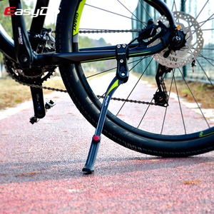 Image 5 - EasyDo אופני Kickstand מתכוונן אלומיניום סגסוגת אופני עמדת בעיטת צד הר מתלה חניה אופניים Stand