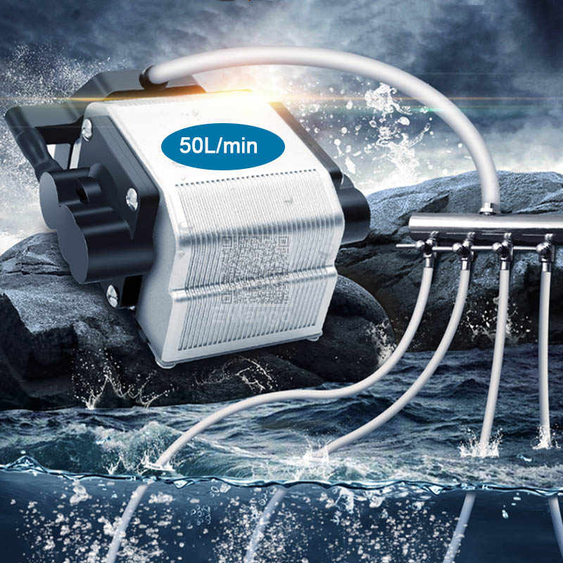 16W Aquarium Air pump Super Big Volume Powerful  low-silent small-scale beate high-power  Oxygen compressor