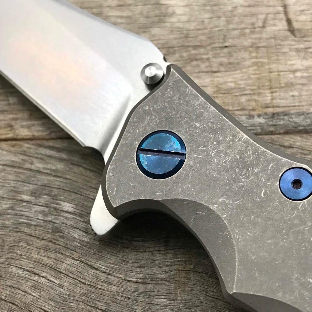 LDT 0392 kokkuklapitav nuga M390 lõiketera titaanist käepide KVT - Käsitööriistad - Foto 5
