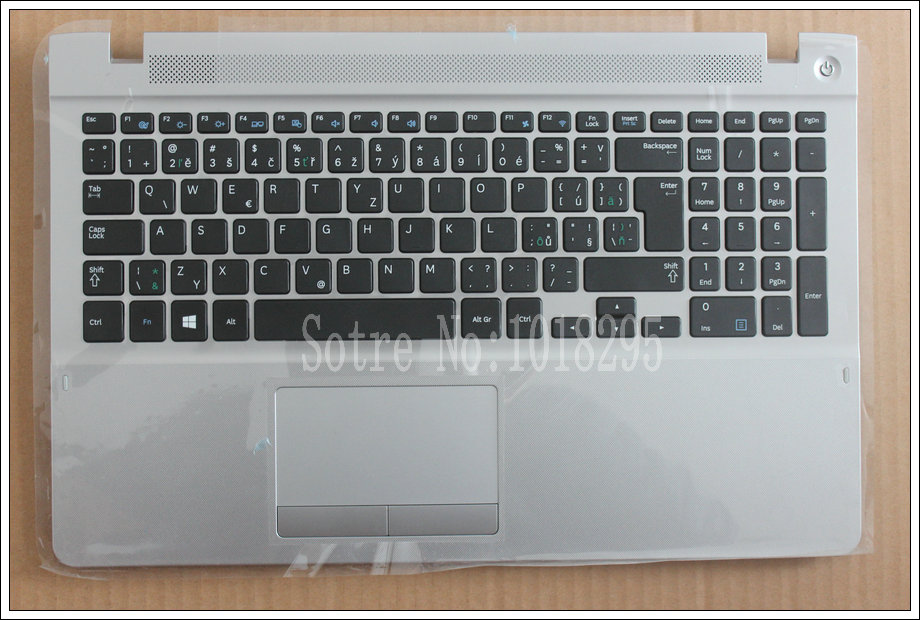 Czech Keyboard for Samsung 370R5E 450R5V NP370R5E NP370R5V NP510R5E S02 510R5E-S01 NP450R5E NP450R5V CZ keyboard With a shell цена