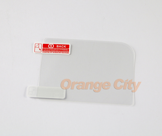 200pcs/lot Plastic Clear Protective LCD Screen Protector film For GB GBA GBC GBA SP for GBM GBP