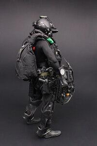 Image 2 - 1/6 US NAVY Seal Halo UDT sauteur costume figurines daction parachutistes grenouille 12 pouces soldat corps Figurine ensemble entier modèle poupée