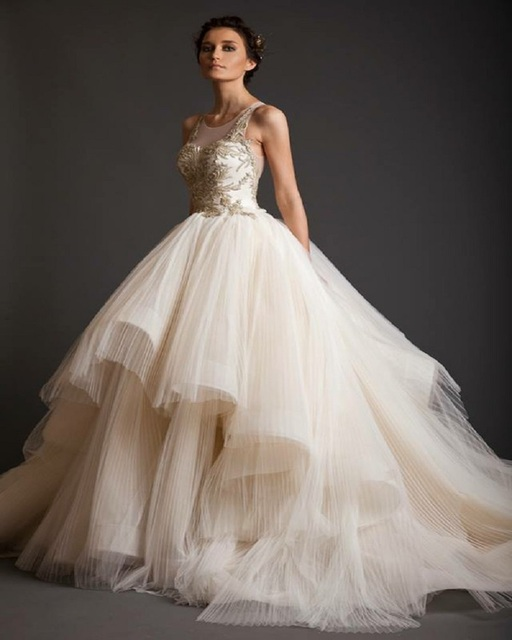 Ball Gown Wedding Dresses 2016 Latest Dress Designs Vera Arabic ...