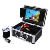 7inch LCD 1000TVL Fish Finder Underwater Fishing Video Camera Monitor AntiSunshine Shielf Sunvisor Infrared IR LED