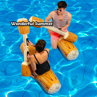 4 Pieces/set Joust Pool Float Game Inflatable Water Sports Bumper Toys For Adult Children Party Gladiator Raft Kickboard Piscina