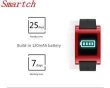 Smartch DM68 Фитнес трекер умный Браслет IP67 водонепроницаемый с ЧСС трекер Приборы для измерения артериального давления Мониторы шагомер для iOS и