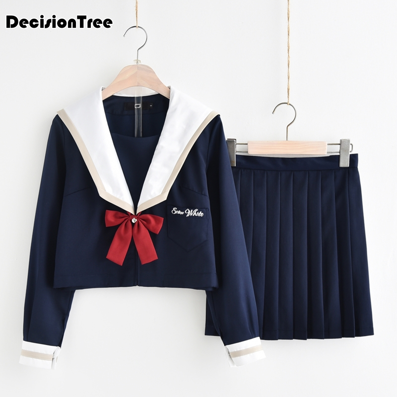 2019 été preppy style jk école uniforme gilet pull pull gilet japonais uniforme coton cosplay tricots chandail