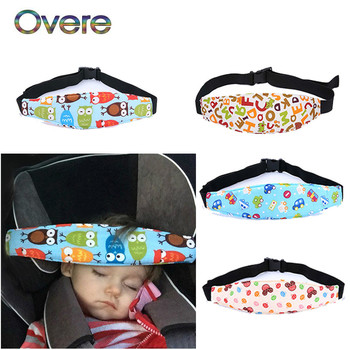 OVERE Kids Car Seat Head Pillow Safety Sleep Positioner For Honda Civic Accord Crv Toyota Corolla RAV4 chr Auris Aygo Camry 2018 image