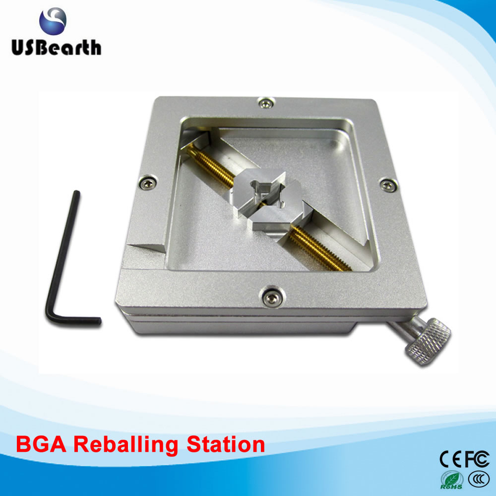 90MM bga reballing station bga jig , stencil holder for bga reballing tms320f28335zjza tms320f28335 bga