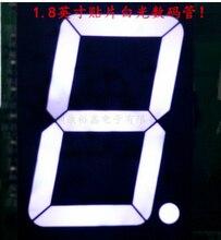 1 бит общий анод цифровой трубки 1.8in. Белый светодиод Дисплей 7-сегментный 10 шт.