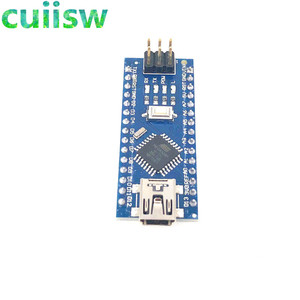 Image 3 - 10 Stks/partij Nano 3.0 Controller Compatibel Voor Arduino Nano CH340 Usb Driver Met Kabel Nano V3.0 ATMEGA328P
