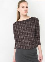 Brown light art elastic double-knit wool plaid fabric dress Party printing super hollandais sequin design college fabric A272 цена и фото