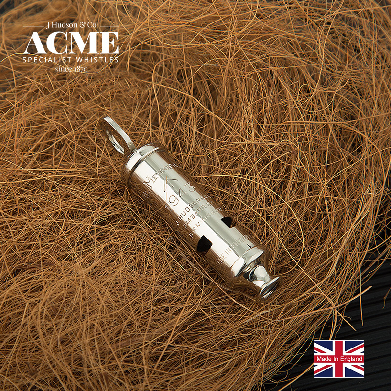 ACME1943 Limited Edition Metal Sound Clear and Loud Fashion Pendant Accessories Souvenir Pendant Whistle Survival whistle in Whistle from Sports Entertainment
