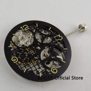 BLIGER 17 Jewels silver 6497 Hand Winding movement Full