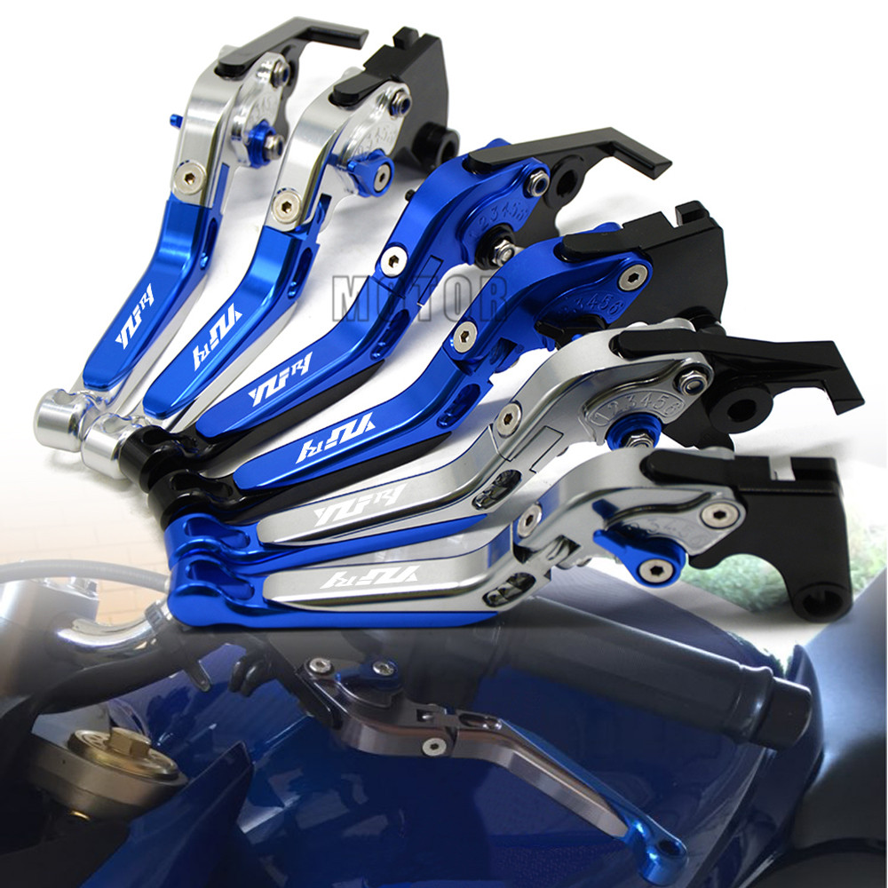For Yamaha YZF R1 R1M 2015 2018 2016 2017 CNC Motorcycle Adjustable Folding Extendable Brake Clutch