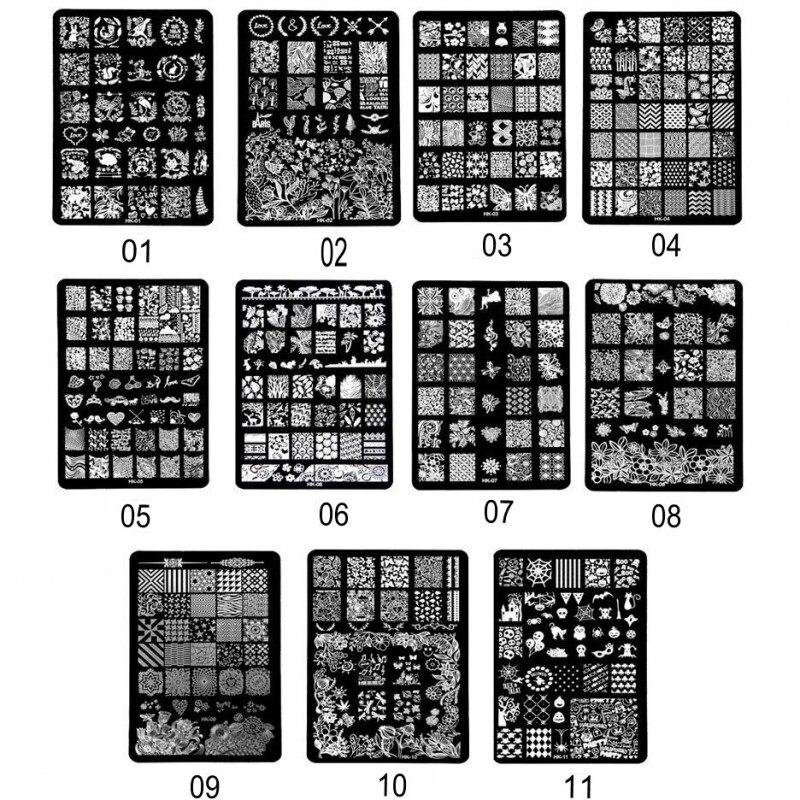 nail stamping templates (1)