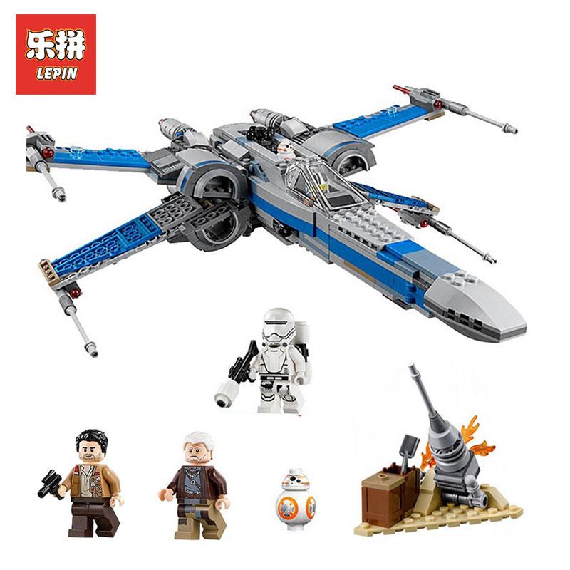 NEW LEPIN 05029 Star Wars Series The X Toys Wing Set fighter Set Building Blocks Bricks assembled LegoINGlys 75149 children toys