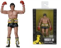18cm NECA Series Rocky III ROCKY BALBOA CLUBBER LANG 40th Anniversary PVC Action Figure Collectible Model