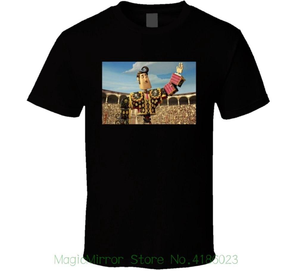 The Book Of Life Manolo Matador Sanchez Bullfighter T Shirt 2018 Hot Sale New Mens T Shirt