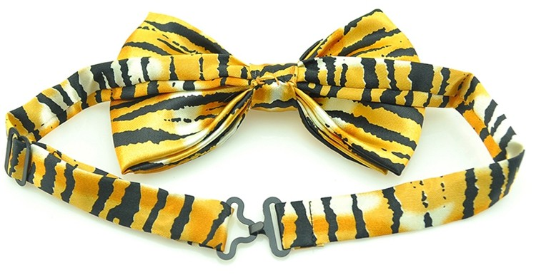 "2-3//4/"" Zebra Stripes Print Polyester Neck Tie Animal Casual Novelty"