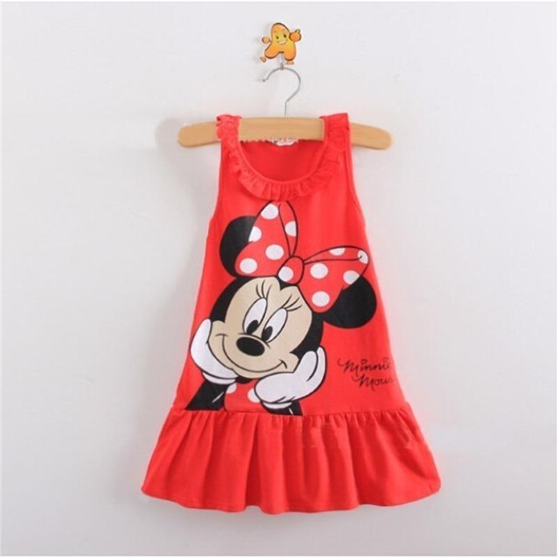 Retail-princess-New-2017-summer-1pcs-baby-girls-lovely-clothing-princess-children-cartoon-kids-dress-2