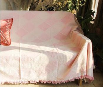 Schonbezüge Für Sofas | Überprüft Muster Einfache Baumwolle Gewinde Decke Sofa Abdeckung Staub Beweis Handtuch Abdeckung Stuhl Nicht-slip Teppich