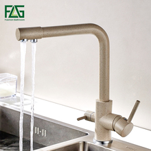 FLG Waterfilter Taps Kitchen Faucets Brass Mixer Drinking Purify Faucet Sink Tap Water Crane For