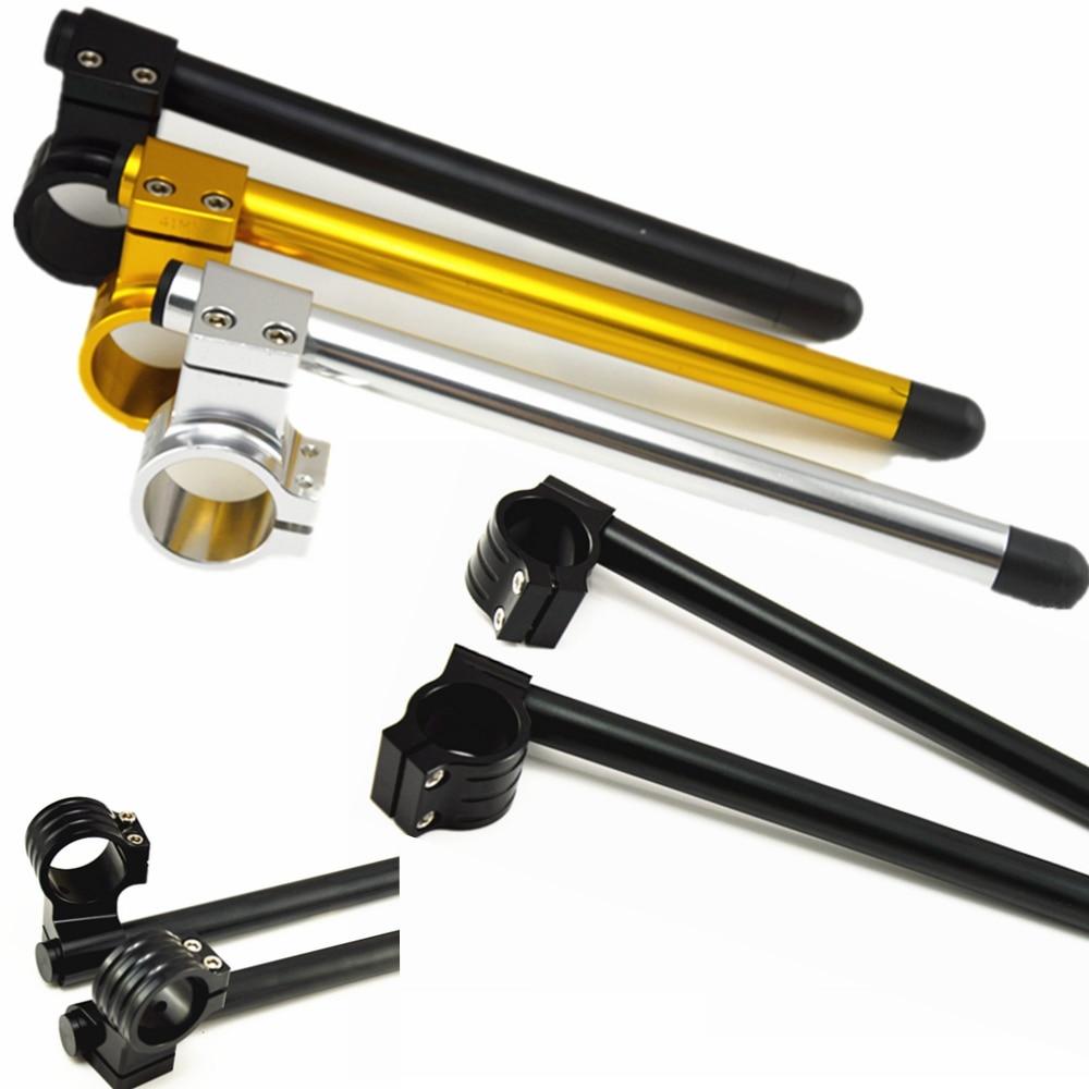 Universal Racing CNC 37mm 41mm 43mm 50mm Clip on Ons horquilla elevador Regular manillar motocicleta