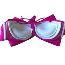 Women's Bikini Sponge Bra Pads Inserts Chest Pad Breast Enhancer Bra Push Up Breast Bikini Padding Removeable Bra Pads