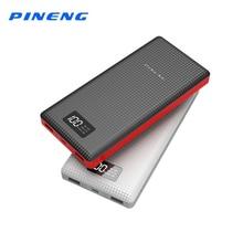 Pineng PN-969 Мощность Bank Оригинал 20000 мАч литий-полимерный Батарея Портативный Зарядное устройство светодиодный индикатор Мощность банка для iPhone 5S Смартфон