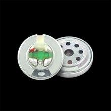 1 sztuka 10mm głośnik grafen wysokiej jakości biały magnetyczny gorączka Subwoofer ruchoma cewka jednostka 6u słuchawki DIY części kierowcy