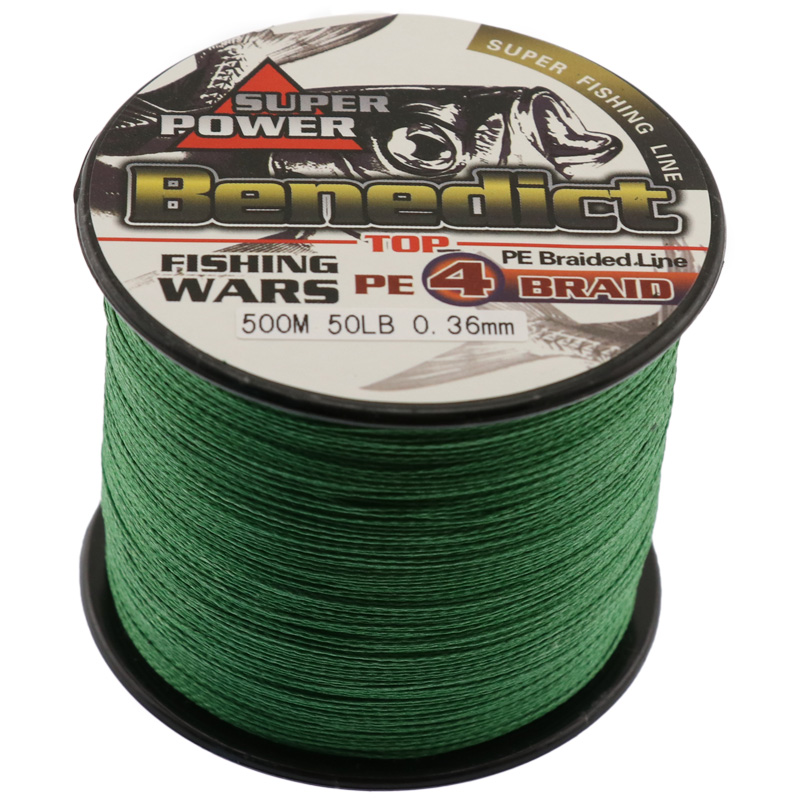 500M Brand New 4strands Japan Multifilament 100% PE Nattvard Starkt - Fiske