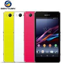 """sony Xperia Z1 Compact D5503 разблокированный 3G/4G Android четырехъядерный 2 Гб ram 4,"""" 20.7MP wifi gps 16 Гб хранения мобильного телефона"""