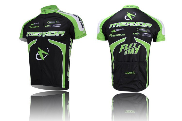 Prix pour 2017 Merida vélo clothing/vélo sport vélo route vélo à manches courtes jersey/porter/respirant