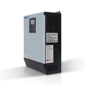 Image 3 - EASUN güç 3KVA güneş invertör 2400W 24V 220V hibrid invertör saf sinüs dalgası dahili MPPT güneş şarj kontrol cihazı pil şarj cihazı