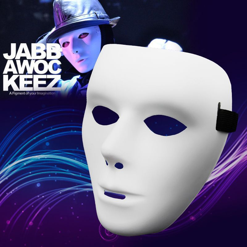 Quality Hot JabbaWockeeZ Mask Dancers Dance Together Performances Mask Hip-hop Mask Elastic